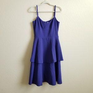 Dress the Population Yasmin Blue Violet Dress M